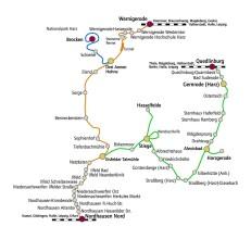 Streckennetz HSB (C) HSB