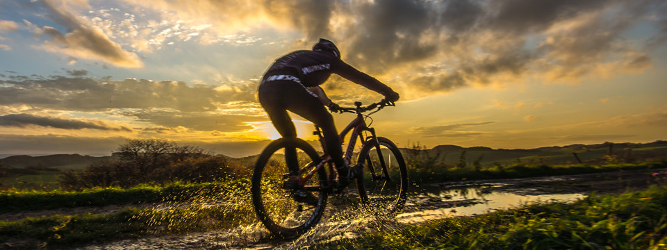 Biken auf dem Karstwanderweg